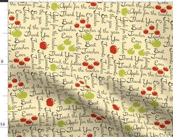 Educators School//Teacher Quilt Fabric By The Yard
