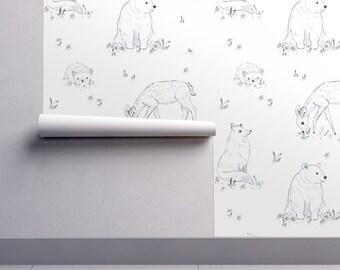 Deer Wallpaper Etsy