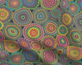 Millefiori Fabric - Granny 39 s Crazy Patchwork Quilt By Groovity Italian Beadwork Style Mandalas - Cotton Fabric By The Yard With Spoonflower