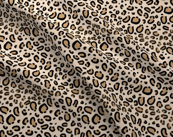b2aea38ebc Animal Print Fabric - Leopard Print - Tan Natural Cheetah Safari Print By  Charlotte Winter - Cotton Fabric By The Yard With Spoonflower