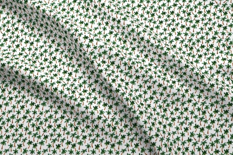 65676e9f95 Palm Tree Fabric Palm Tree Print Tiny By Shelbyallison | Etsy