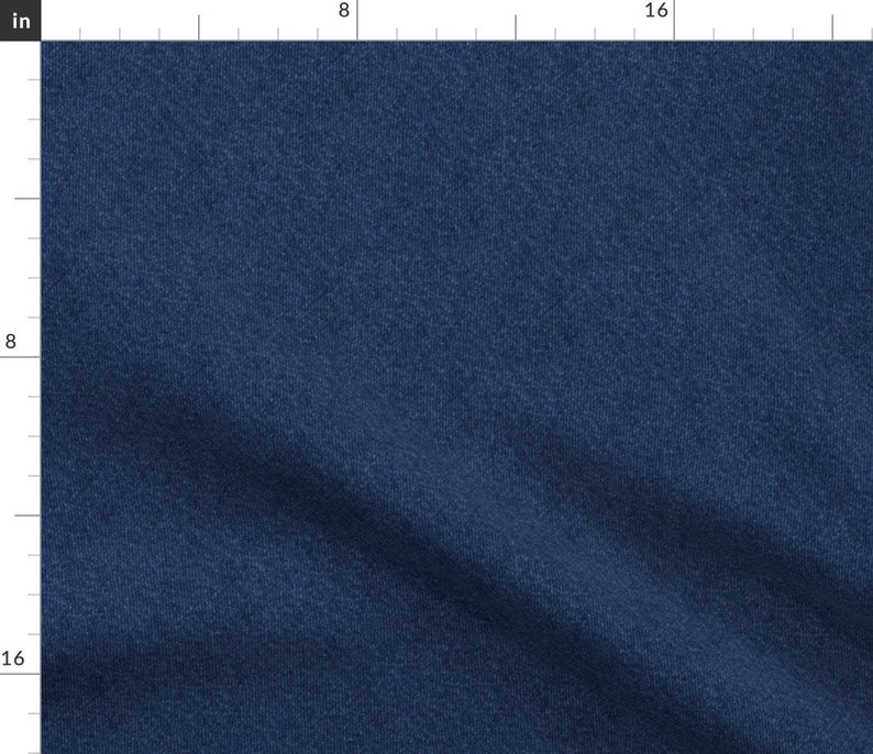 Faux Denim Textue Fabric  Denim Smaller By Vo_Aka_Virginiao  image 1