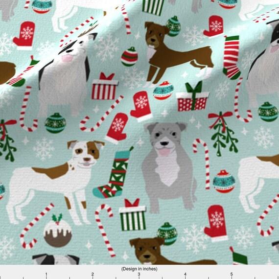 I Love Pitbulls Cotton Maxi Shopping Bag
