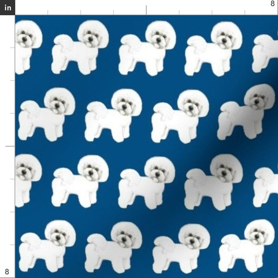 Slender Poodle Dog Handmade Fabric super cute Key ring Key Chains 6.2 x 8 cm.