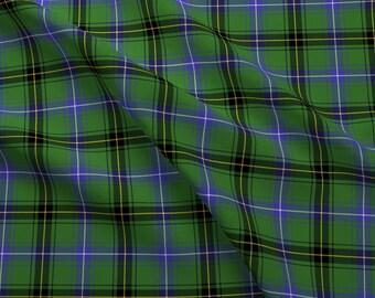 "Henderson Tartan Fabric - Henderson Or Mckendrick Tartan 4"" Modern By Weavingmajor - Tartan Plaid Cotton Fabric By The Yard With Spoonflower"