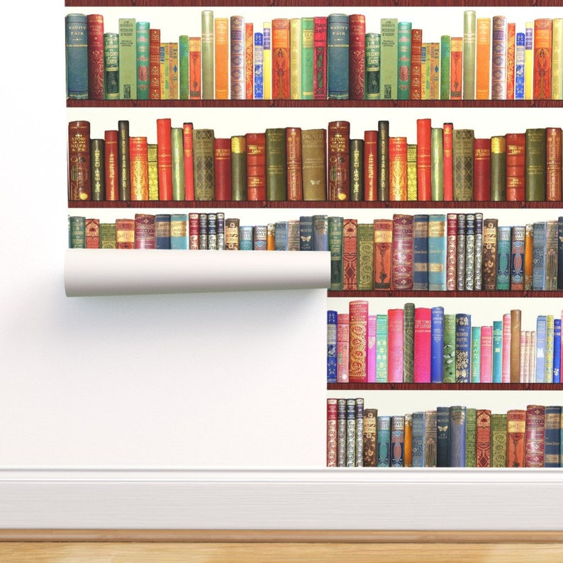 Library Wallpaper  Antique Book English Author By image 0