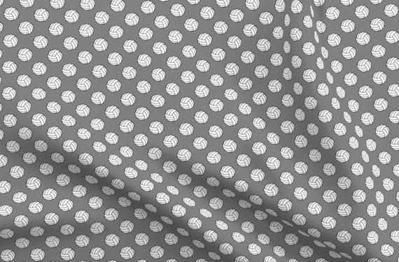 Stretch Cotton Sateen Fabric Print White Polka Dot Spot on Black 1m x 142cm