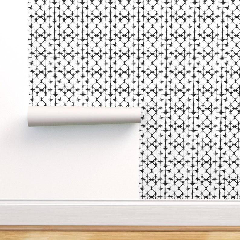 Shibori Wallpaper  Shibori Black and White By Jillbyers  Mod image 0