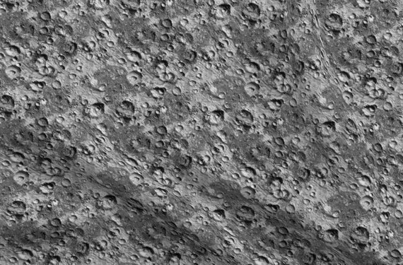 Moon Lunar Moon Home Decor Lunar Moon Texture Fabric Printed by Spoonflower BTY