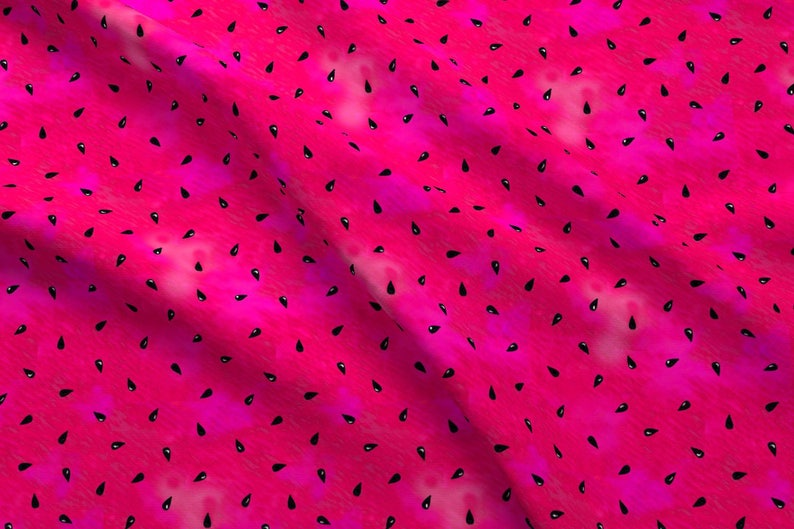 16cc725c08c075 Watermelon Seeds Fabric Summer Watermelon Seeds By | Etsy