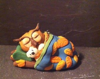L'il Olivia the Owl Dream'in Ornament