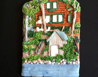 Custom House Ornament- Waterfront Homes -  -Architectural and Landscape Detail