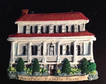 Custom Home Ornament -  Architectural and Landscape Detail - Farmhouse, Tudor