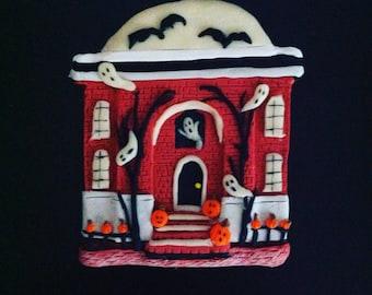 Halloween Haunted House Ornament 2017