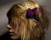 Emily Vintage Feather Hair Piece