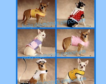 Dinky Dog Clothes Etsy