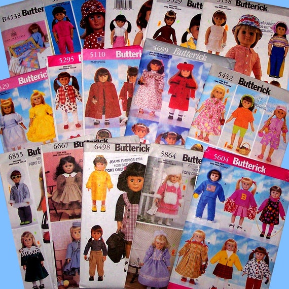 Wahl der 15 Butt 18 Puppenkleidung Nähen Muster Butt | Etsy