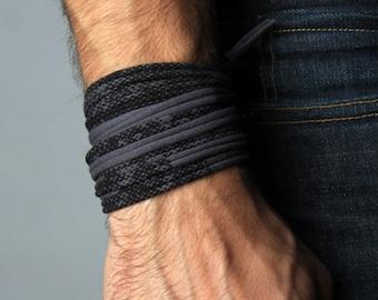 Men Bracelet, Gift for Men, Boyfriend Gift, Mens Gift, Wrap Bracelet, Mens Jewelry, Gift for Husband, Boyfriend, Festival Clothing, Mens