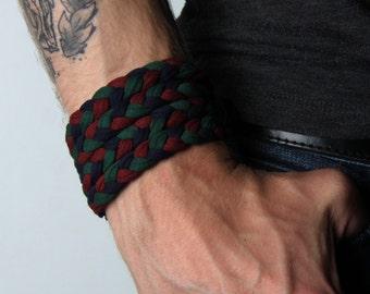 Braided Bracelet, Wrap Bracelet, Boyfriend Gift, Gift for Men, Mens Bracelet, Mens Gift, Husband Gift, Festival, Gift for Husband, Boyfriend