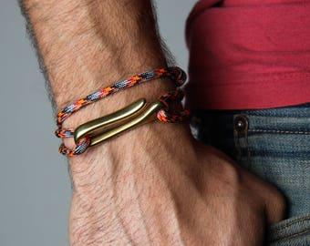Paracord Bracelet, Bracelet for Men, Gift for Men, Boyfriend Gift, Mens Jewelry, Men's Bracelet, Men's Jewelry, Paracord Bracelet Survival