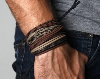 Mens Bracelet, Burning Man, Gift for Men, Boyfriend Gift, Gift for Boyfriend, Husband Gift, Gift for Husband, Festival Clothing, Festival