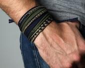 Mens Bracelet, Mens Gift, Gift for Men, Gift for Boyfriend, Boyfriend, Boyfriend Gift, Husband Gift, Mens, Burning Man, Cotton Anniversary