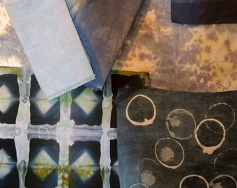 Shifting into Neutral - Online Workshop - Learn to Dye for Quilters and Textile Lovers