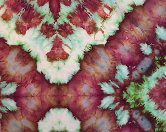 """Ice Dyed Cotton Lawn - for Quilting and Patchwork - 20"""" x 20"""""""