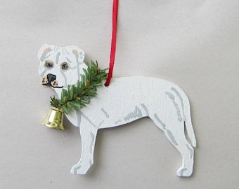 Pitbull Christmas Ornament.113 Collection Of Pitbull Christmas Ornaments All About