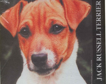 Vintage Dog JACK RUSSELL TERRIER Dog Breed Mousepad New in Package