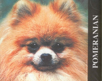 Vintage Dog POMERANIAN Dog Breed Mousepad New in Package