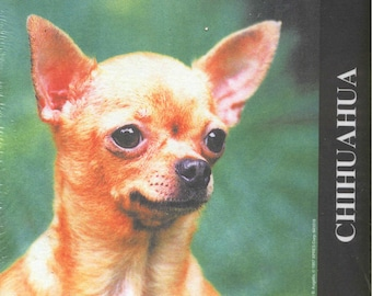 Vintage Dog CHIHUAHUA Dog Breed Mousepad New in Package