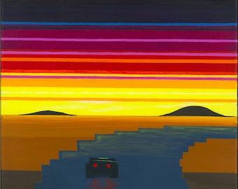 Sunset Escape (photo print)