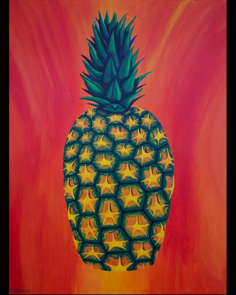 Pineapple photo print image 0
