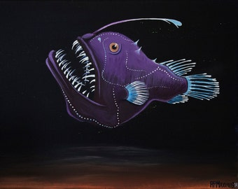 Anglerfish (photo print)