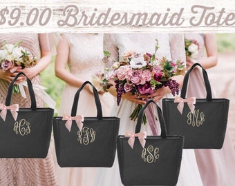 Bridesmaid Gift , Bridesmaid Tote , Bachelorette Party, Bridesmaid Tote, Bridal Party Gifts , Wedding , Bridesmaid Proposal