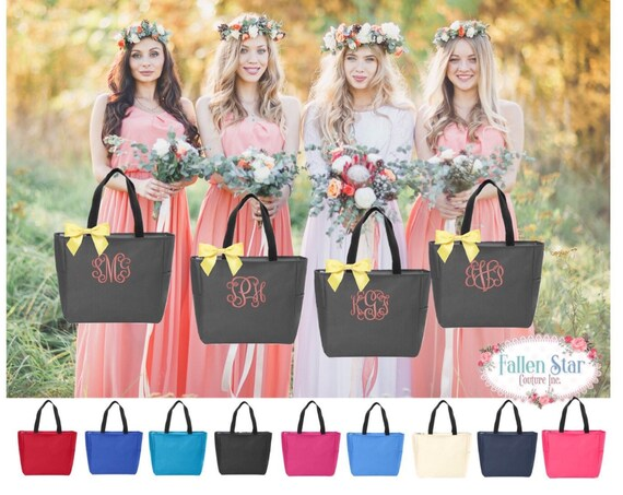 Bridesmaid Gifts , Bridesmaid Tote Bag, Weddings, Personalized Tote Bags, Bridesmaid Proposal, Bachelorette Party, Bridal Party Tote Bag