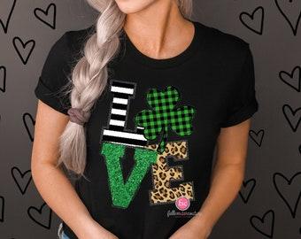 St Patrick's  Day Shirt , Shamrock Shirt , Ladies St Pattys ,Irish Shirt, St Patrick's  Day Tees, Woman's St Patrick's  Shirt