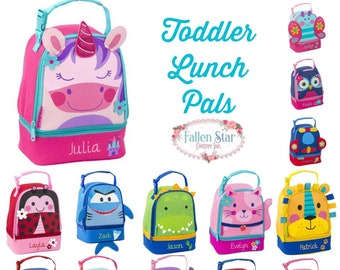 65396bd87f7623 Toddler lunch box   stephen joseph lunch box   personalized lunchbox    preschool lunch box  kids lunch box   LUNCH PALS