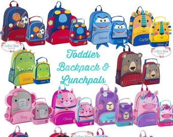 Toddler Backpack lunchbox Preschool Backpack Personalized Toddler Backpack  Stephen Joseph Unicorn Backpack Diaper Bag cee1167707241