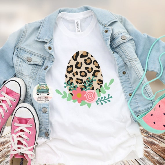 Ladies Easter Shirt , Leopard Easter Shirt , Girls Easter Shirt,  Easter Egg Shirt , Bunny  Love Shirt, Kids Easter Tees,  Bunny Shirt