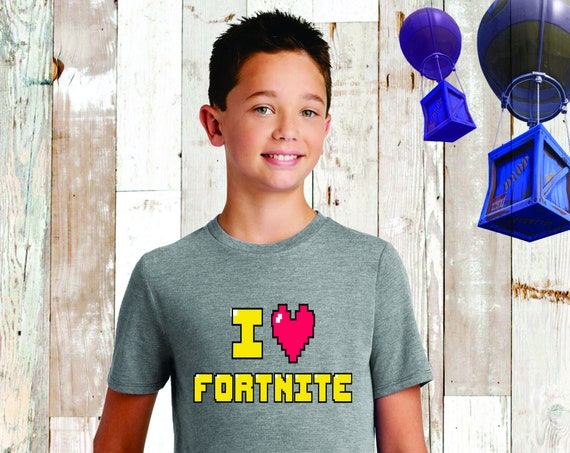Boys Fortnite Tee, Fortnite Shirt, Fortnite Birthday , Fortnite T-Shirt , Fortnite Lover, Floss, Fortnite Kids Tee, I Love Fortnite