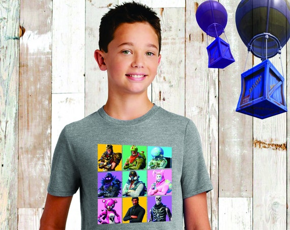 Boys Fortnite Tee, Fortnite Shirt, Fortnite Birthday , Fortnite T-Shirt , Fortnite Lover, Floss, Fortnite Kids Tee, Fortnite Skins