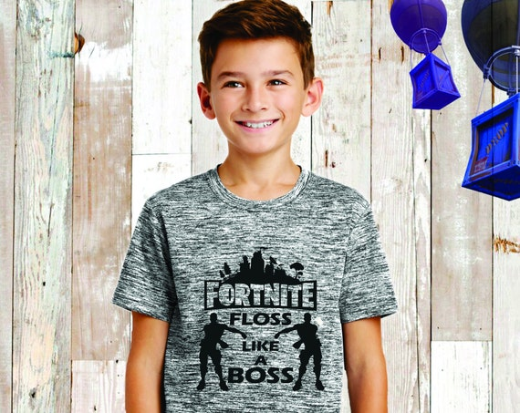 Kids Fortnite T- Shirt , Fortnite Shirt, Fortnite Birthday , Fortnite T-Shirt , Fortnite Lover, Floss, Fortnite Kids Tee , Floss Like A Boss