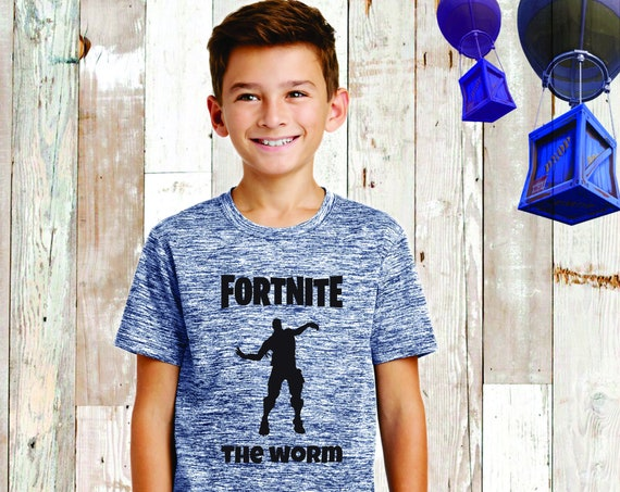 Kids Fortnite T- Shirt , Fortnite Shirt, Fortnite Birthday , Fortnite T-Shirt , Fortnite Lover, Floss, Fortnite Kids Ree , Fortnite The Worm