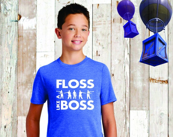 Fortnite Tee, Fortnite Shirt, Fortnite Birthday , Fortnite T-Shirt , Fortnite Lover, Floss, Fortnite Kids Ree , Fortnite Floss Like a Boss