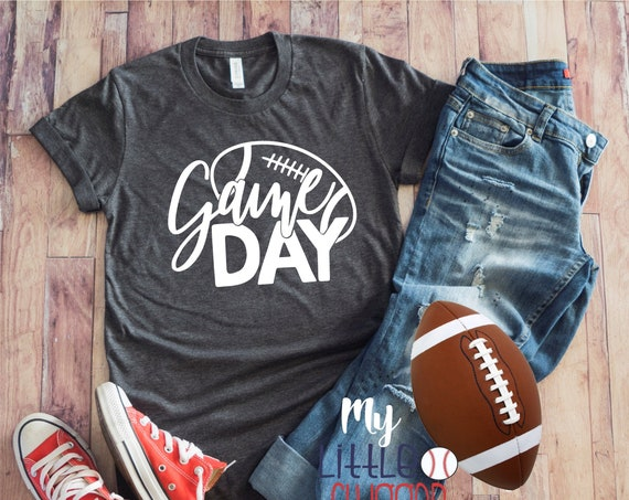 Game Day Football Shirt , football Mom T-shirt , football mom sweatshirt, funny mom tea