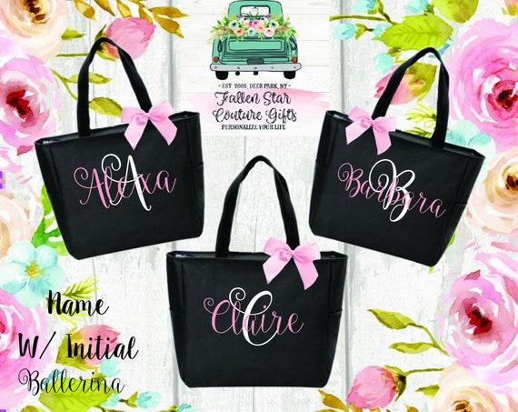 Bridesmaid Bags, Bridesmaid Tote Bags,Bridesmaid Bag,Wedding Tote Bags, Bridal Party Gifts,Bride,Wedding Gift, Custom Tote Bag,Bachelorette