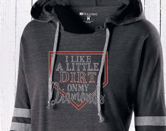 I Like a little dirts on my diamonds , Baseball mom shirt, baseball mom hoodie, baseball mom tank top, baseball mom lace up hoodie,bling