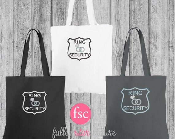 ring bearer tote bag ,flower girl tote bag , Gifts for Flower Girl , gift for Ring Bearer, Wedding Party Gifts